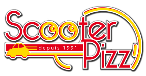 Pizzas et hamburgers scooterpizz